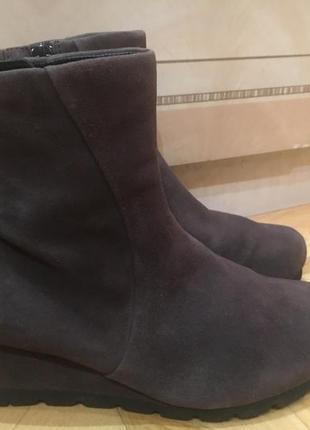 Ботинки gabor натуральная замша