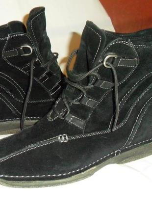 Теплые ботинки,натуралка.качество!