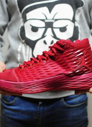 30e6d622 Nike air jordan melo 13 red мужские кроссовки красного яркого цвета ...