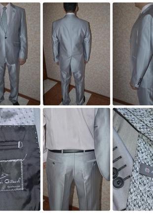 317d6b17d9136 Итальянские мужские костюмы 2019 - купить недорого мужские вещи в ...