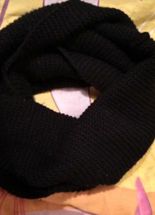Шарф хомут, снуд, шарфік хомут, суцільний шарф
