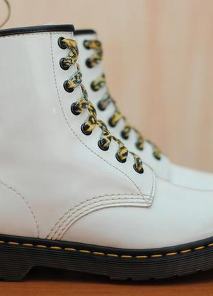Белые женские ботинки c5a2122f70b51