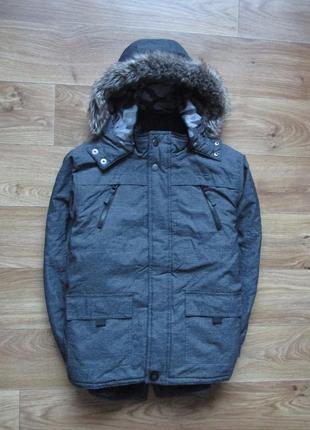Куртка, 8 - 9лет, george, длина 56см, ширина 48см, рукав 48см.