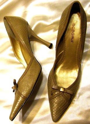 Туфли лодочки женские летние bcb girls 39 р.