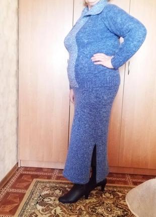 Дуже теплий шерстяний костюм 52 - 54 розміру