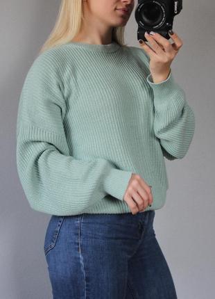 Pull&bear крутой оверзайз свитер