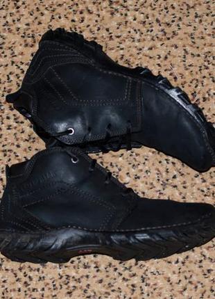 Ботинки мужские кожаные 100% caterpillar