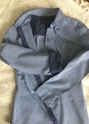 Базовая приталенная рубашка top secret