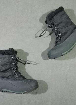 Зимние термо-ботинки снегоходы сноубутсы sorel