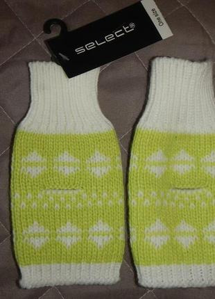 Митенки select рукавицы перчатки
