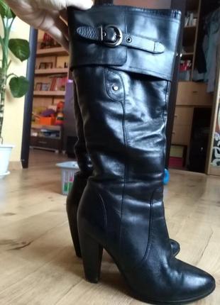 Зимние кожаные сапожки ellenka 38 размер