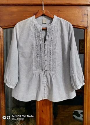 """Блуза """" оффисная """" большого размера"""