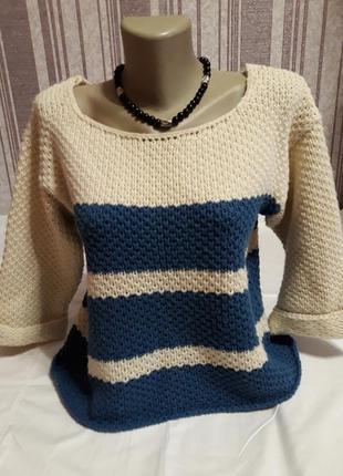 Теплый красивый свитер atmosphere !тотальная распродажа в профиле!