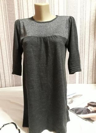 Теплая платье -туничка, большой размер!!!! тотальная распродажа в профиле!