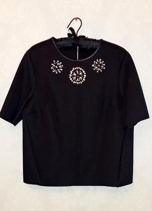 Дизайнерская  блуза raspberry на 50-52 размер