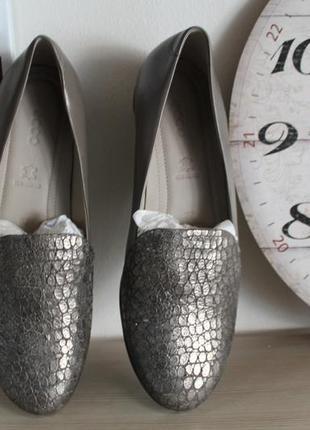 Шкіряні туфлі  ecco touch ballerina 2.0