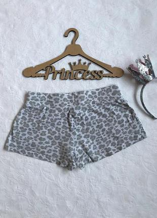 Леопардовые шорты для дома/сна h&m