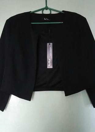 Короткий пиджак болеро vera mont