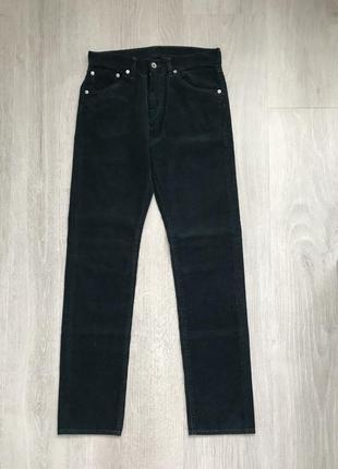 Мужские вельветовые джинсы uniqlo. новые!