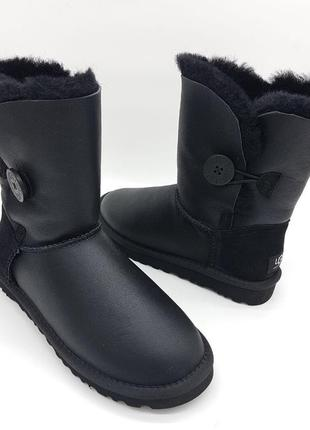 Угги ugg australia bailey button кожа 39р