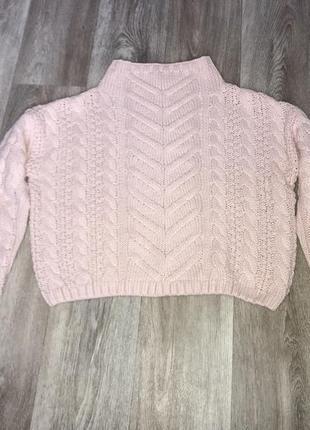 Укороченный тёплый свитер kira plastinina