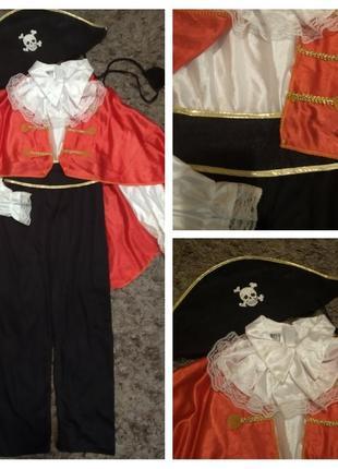 Карнавальний костюм пірата на 7-8 років, іспанія