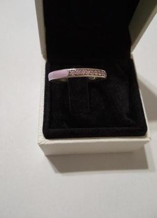 Серебряное кольцо в стиле пандора