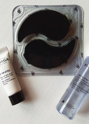 Набор пробников filorga для глаз optim eyes, optim eyes lotion патчи