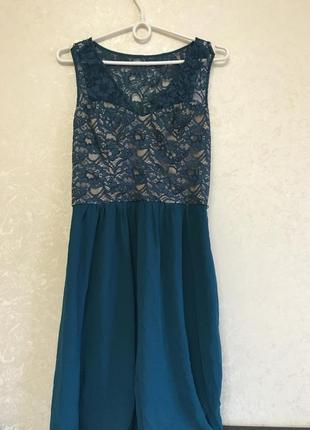 Новогоднее очень эффектное платье oasis