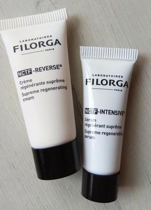 Пробники filorga nctf reverce 7ml filorga nctf intensive 4 ml