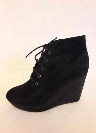 Стильные деми ботинки фирмы fashion by marypat p. 38 стелька 24,5 см
