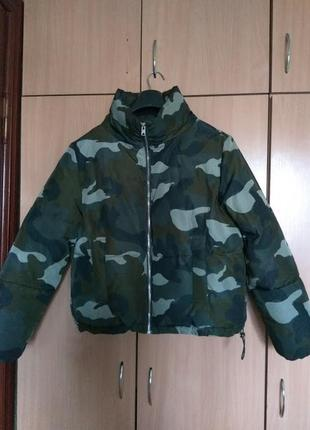 Куртка h&m оверсайз ( р.s-m)