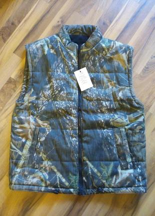 Куртка безрукава ,жилет камуфляж гранд р-52-54