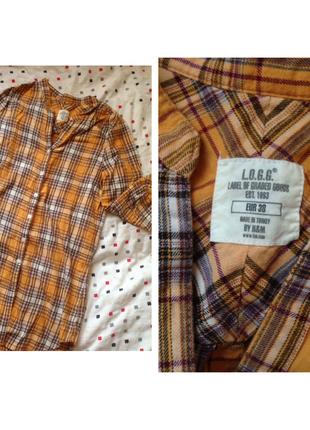 Длинная рубашка h&m