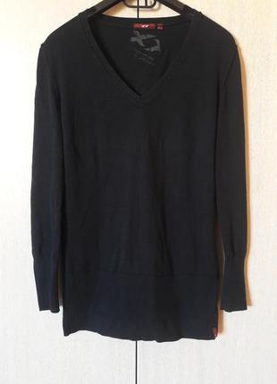 Удлиненный свивет пуловер