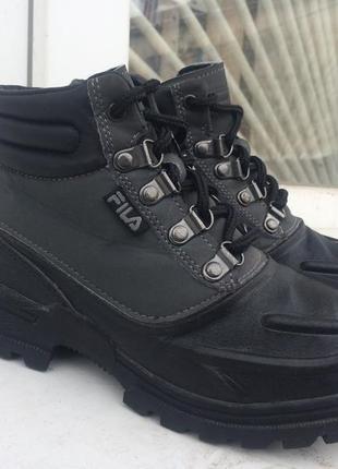 Ботинки fila 35 р. резина на слякоть
