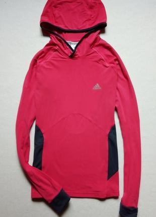 Спортивная женская кофта худи adidas climacool supernova оригинал!