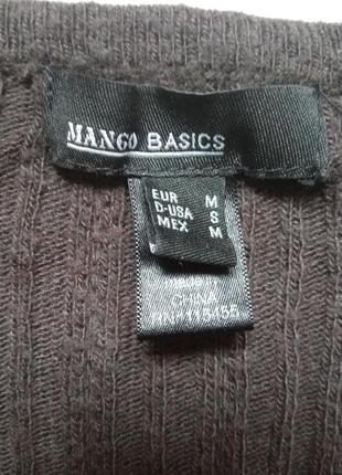 Шерстяной свитерок mango4 фото