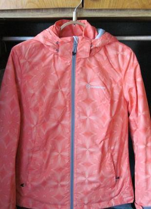 Продам женскую новую демисезонную куртку персикового цвета р.42 (s)