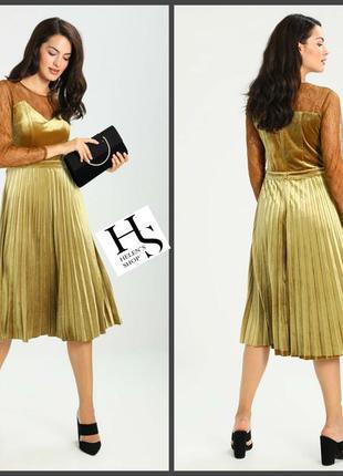 Невероятно богатое платье из джерси,цвет-античная бронза(s и больше см.замеры)обновы!
