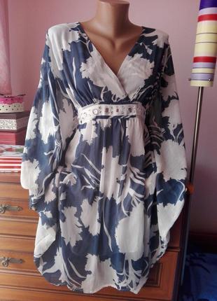 Нереально красивое платье от бонприкс рукав летучая мышь