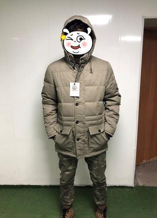 Внимание! на пуху!!! большие размеры 52-54!!! пуховик куртка зимняя