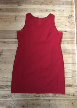 Стильное красное платье classics