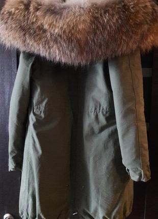 Шубка,куртка,парка на натуральном меху