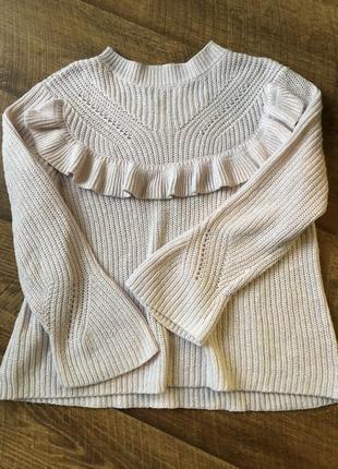 Красивый вязаный свитер only