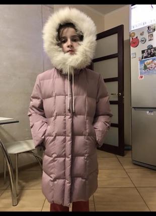 Пуховик /куртка для девочки 9 лет