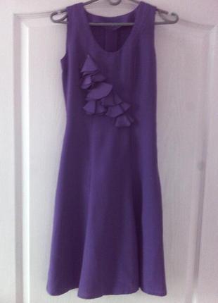Сукня фіолет ручна робота