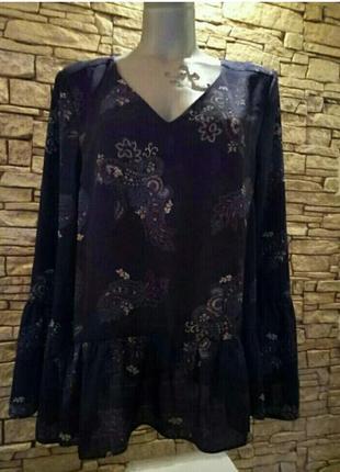 Sale!блуза в тренде,батал 50-52 george