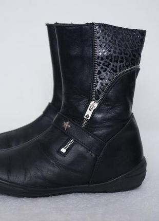 Демисезонные итальянкские ботиночки lepy