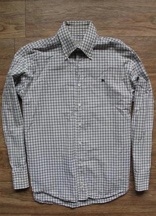 Стильная шикарная оригинальная рубашка burberry classic fit хл размер